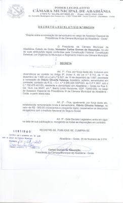Decreto Legislativo n° 006-2014