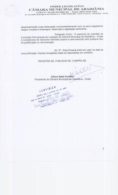 Portaria n° 001-2013